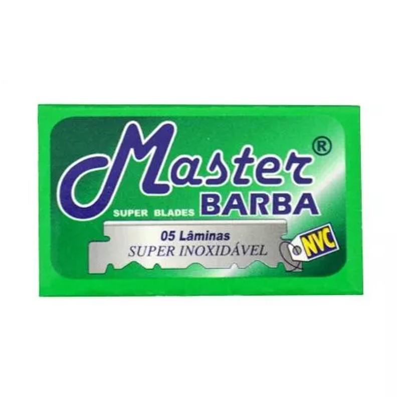 Cartela 50 Lâminas de Barbear Super Inoxidáveis  - Thata Esportes