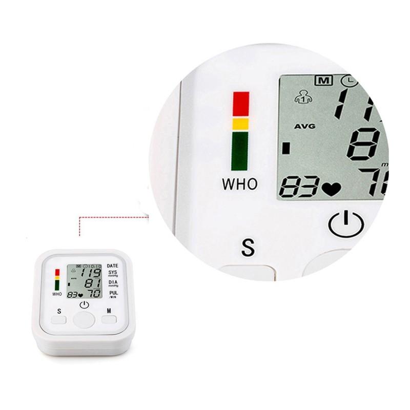 Medidor Monitor Automático de Pressão Arterial com Indicador de Voz  - Thata Esportes