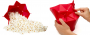 Pipoqueira Sem Óleo para Micro Ondas - Pipocas Deliciosas
