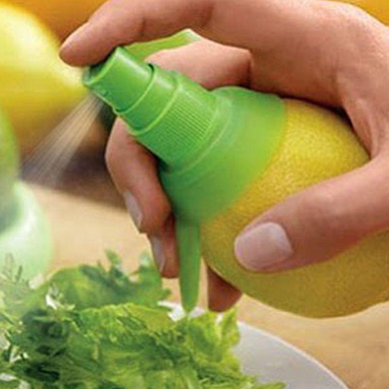 Citrus Sprayer - Pulverizador e Espremedor de Frutas - Igual ao da TV   - Thata Esportes