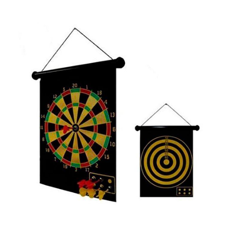 Jogo de Dardos Magnético - Dupla Face  - Thata Esportes