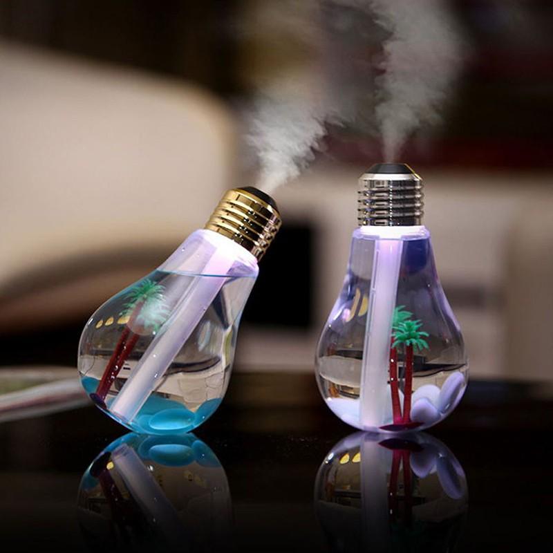 Luminária Lâmpada Difusor Umidificador ambiente Ar Luz LED USB  - Thata Esportes