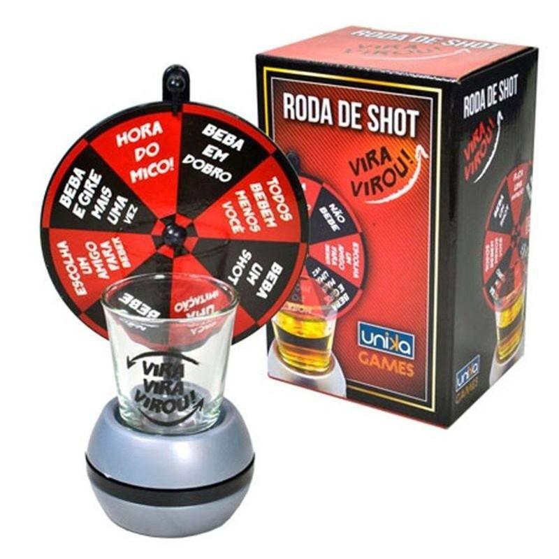 Mini Roda Drink Shot Vira Vira  - Thata Esportes