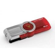 PEN DRIVE KINGSTON DT101G2/8GBZ 8GB DATA TRAVELLER VERMELHO USB 2.0