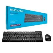 Teclado e Mouse sem fio Multilaser TC251