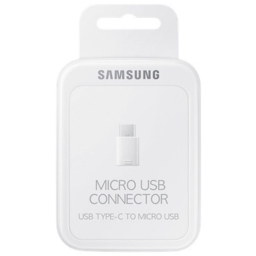 Adaptador Type C para Micro USB Samsung Original EE-GN930BWEGBR