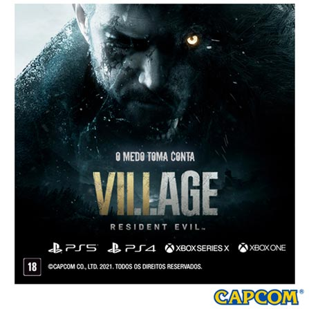 Jogo Resident Evil Village para PS4