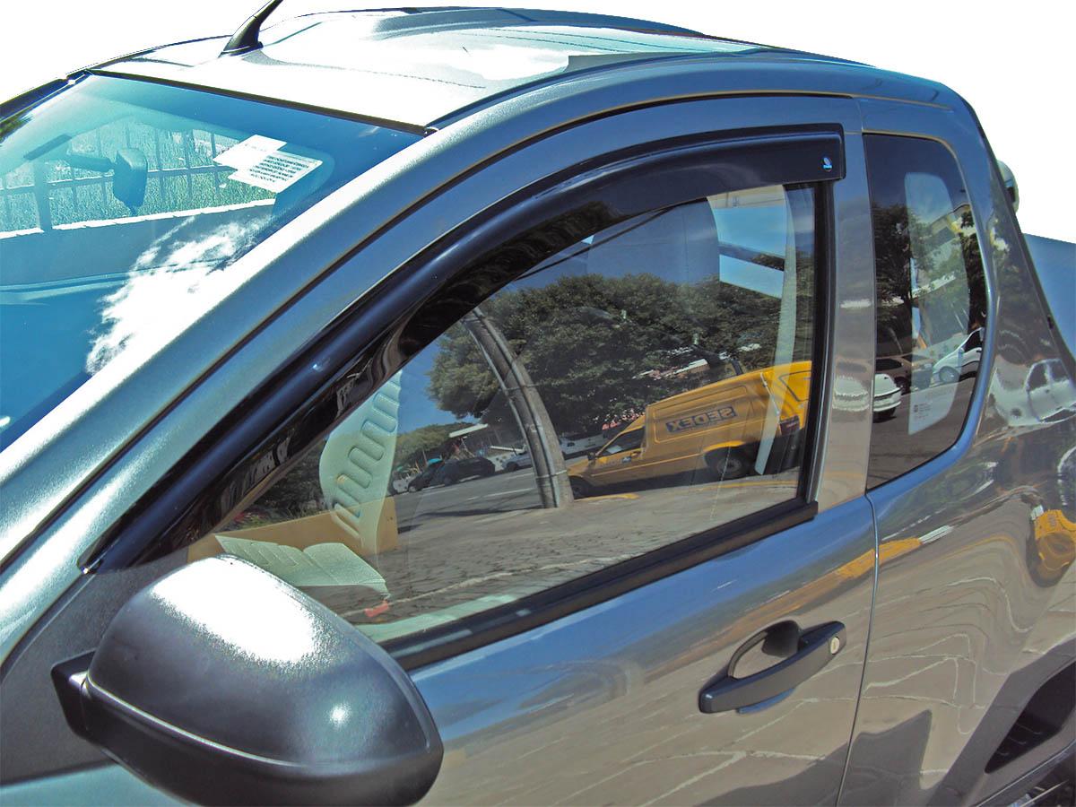 Calha de chuva S10 cabine simples 1995 a 2011