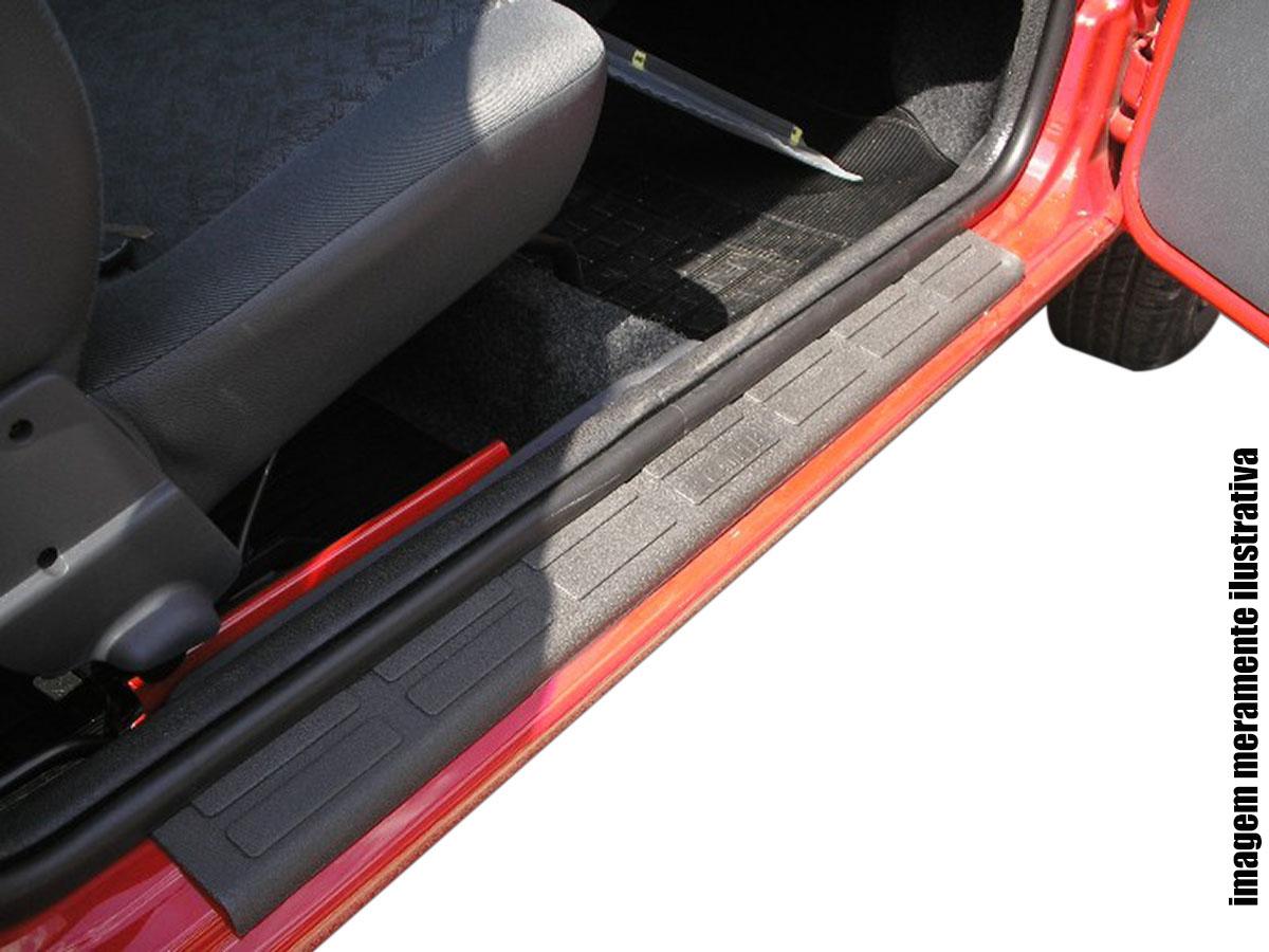 Protetor de soleira Nova S10 cabine dupla 2012 a 2017