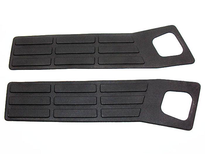 Pisante lateral do para choque traseiro S10 1995 a 2000