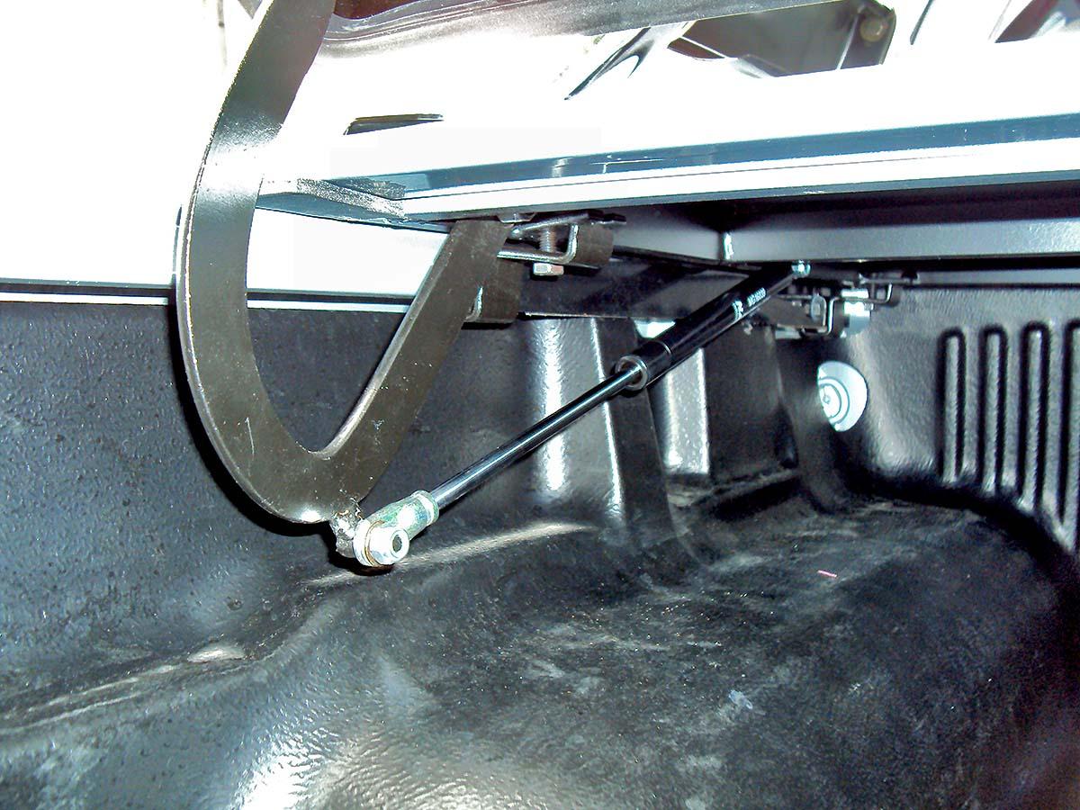Tampão de aço capota elétrica Ranger cabine dupla 1998 a 2012