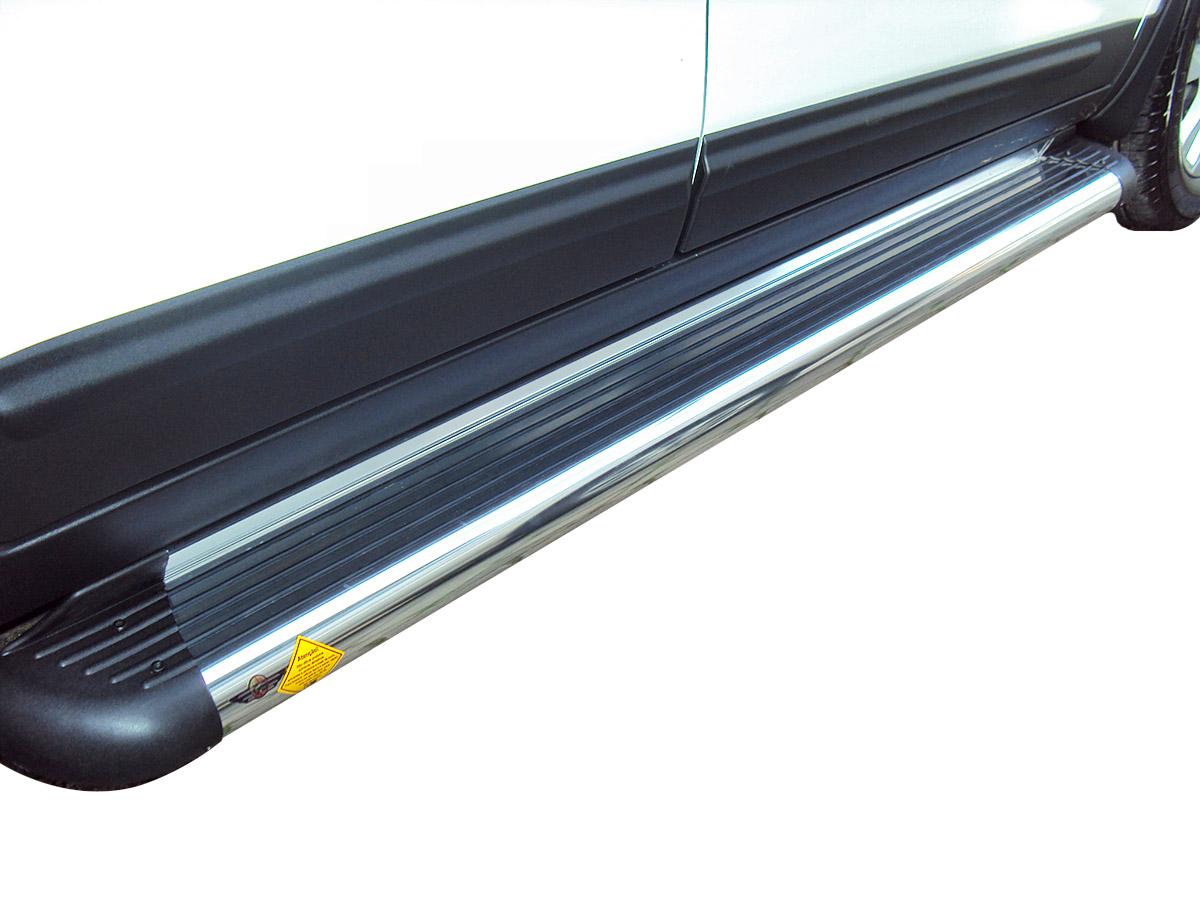 Estribo plataforma alumínio Tiggo 2009 a 2015