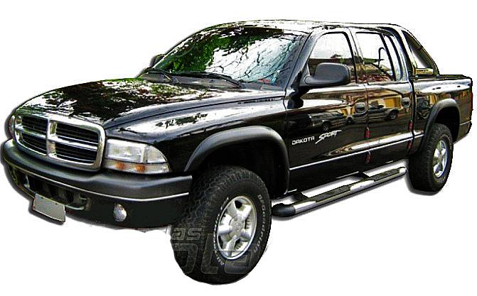 Alargador de paralama Dakota 1998 a 2001