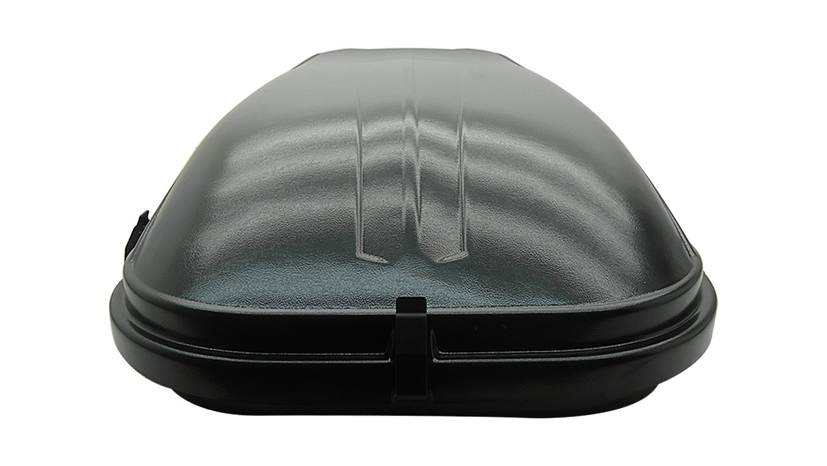 Bagageiro de teto maleiro com chave 350 litros preto
