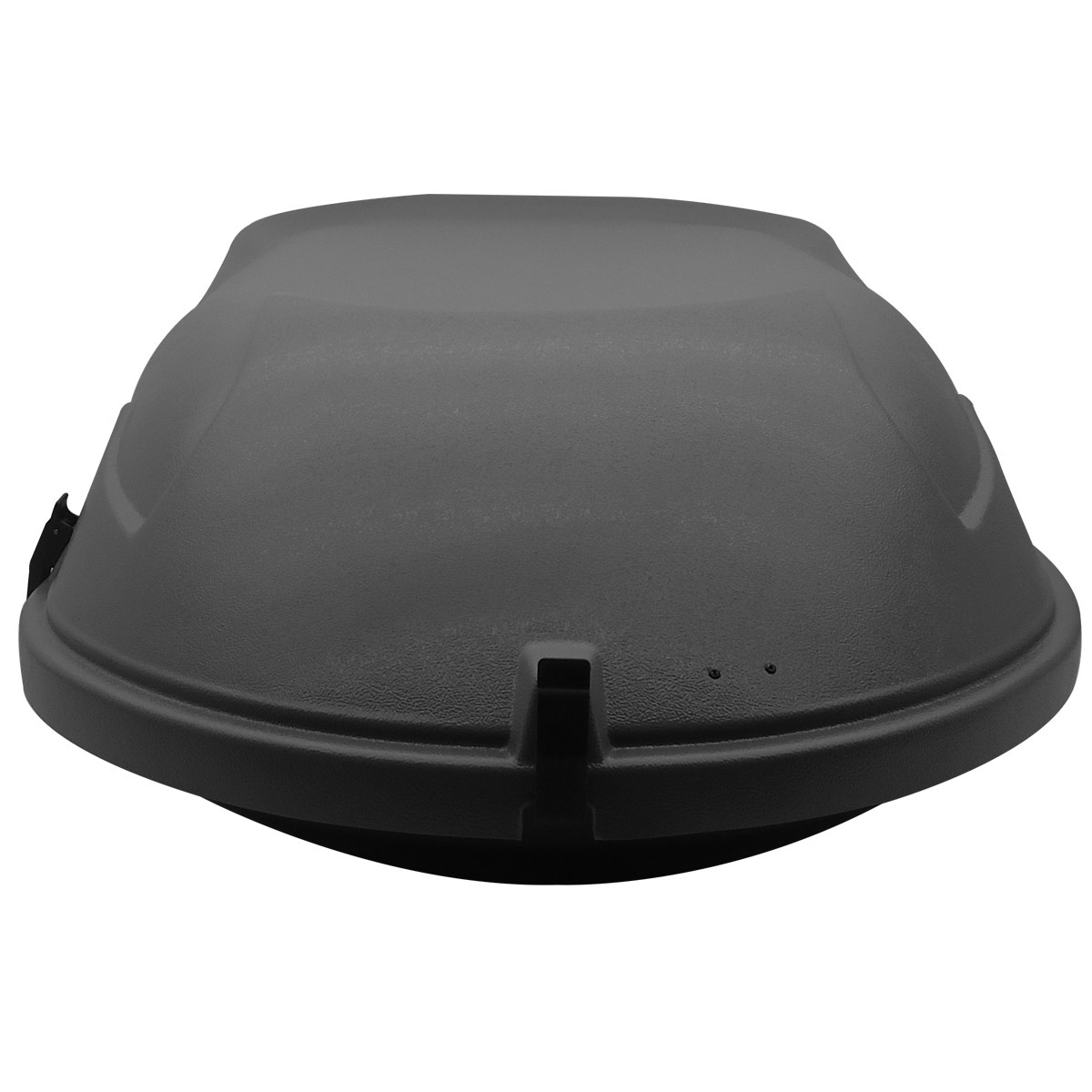 Bagageiro de teto maleiro com chave 400 litros cinza