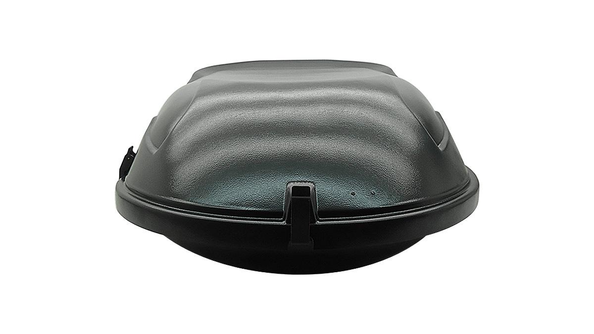 Bagageiro de teto maleiro com chave 400 litros preto