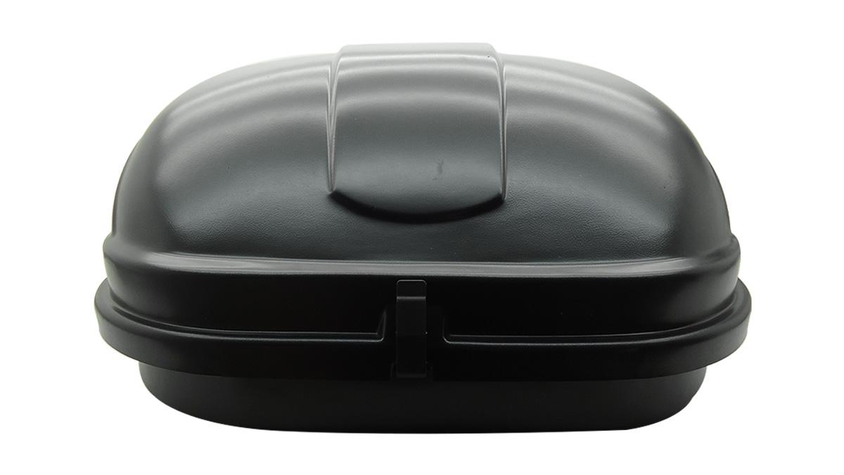 Bagageiro de teto maleiro com chave 600 litros preto