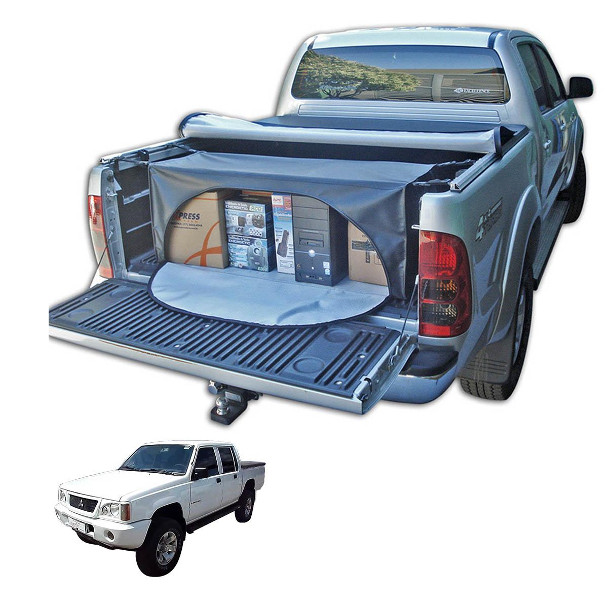 Bolsa para caçamba L200 GL 1999 a 2005 ou L200 GLS 1999 a 2007