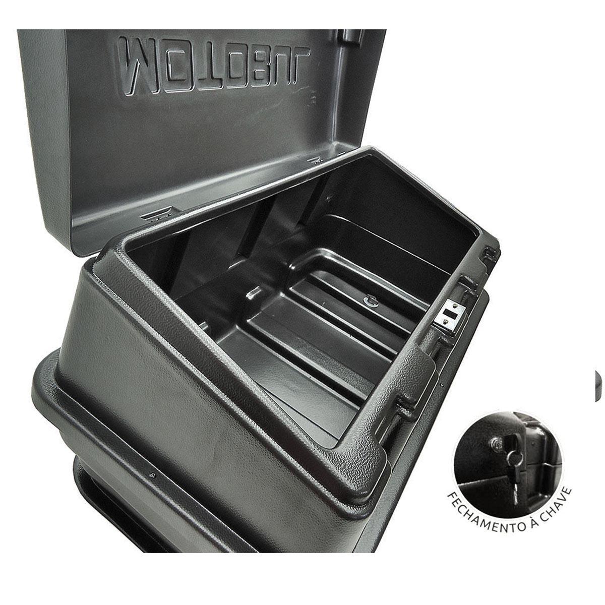 Caixa para ca�amba com chave L200 GL 1999 a 2005 ou L200 GLS 1999 a 2007
