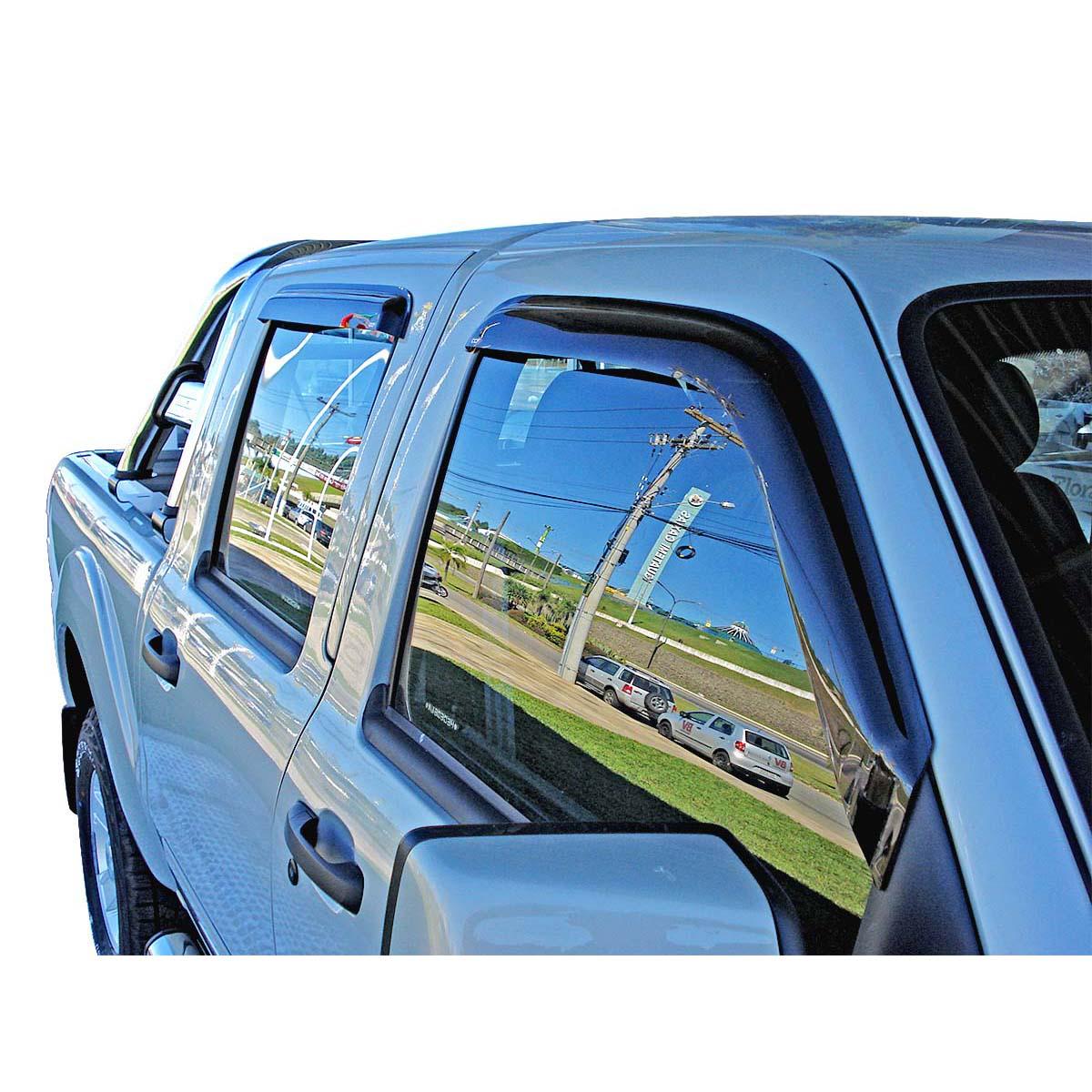 Calha de chuva Dodge Ram cabine dupla 2005 a 2011