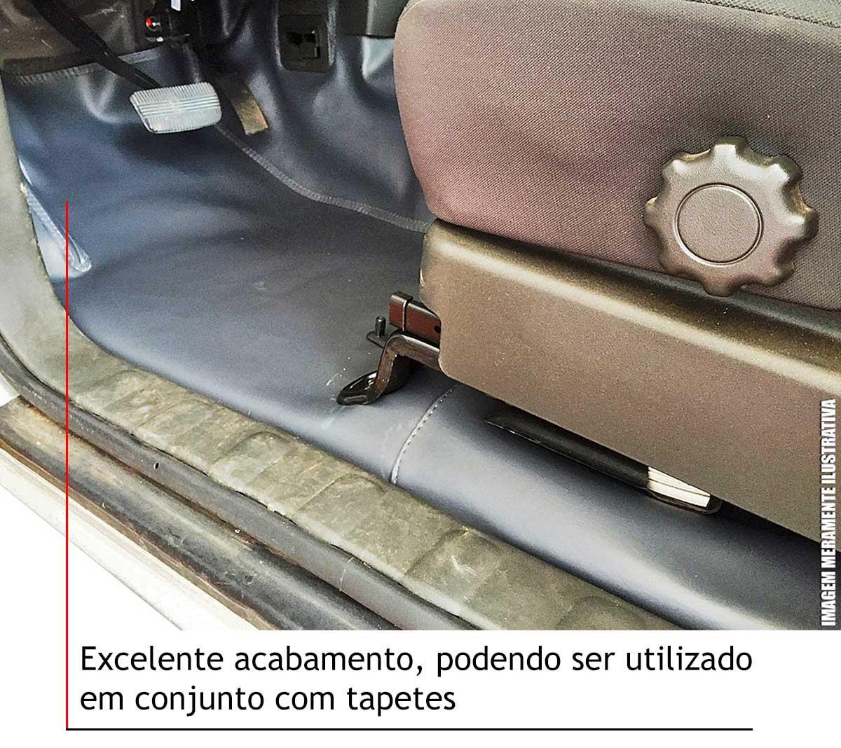 Capa de assoalho Fiat Toro 2017