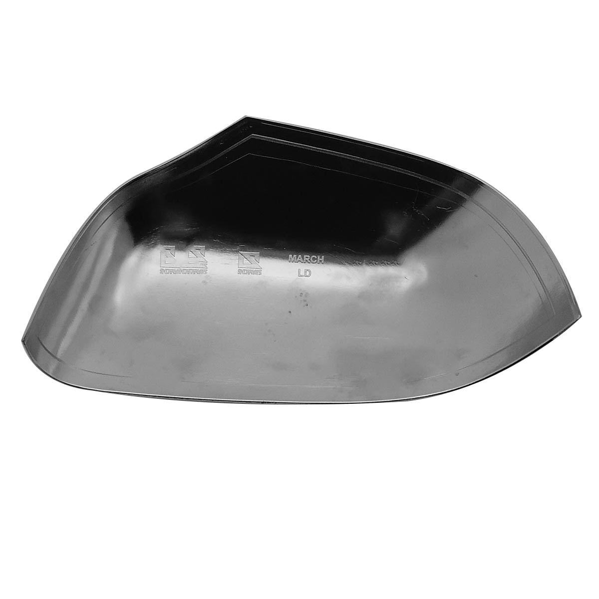 Capa de retrovisor cromada Duster 2012 a 2017 ou Duster Oroch 2016 2017
