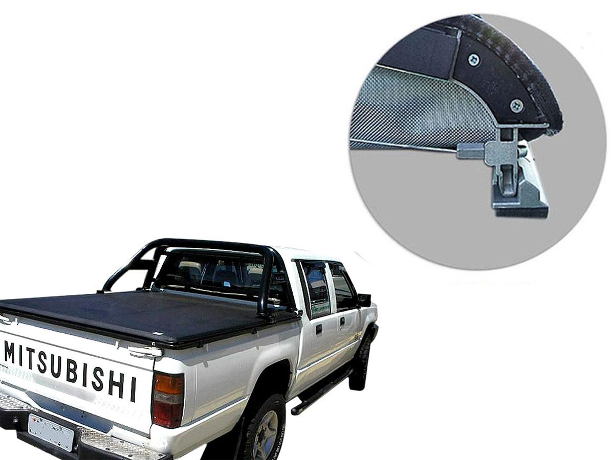Capota mar�tima slim force L200 GL 1999 a 2005 ou L200 GLS 1999 a 2007 sem grade de vidro