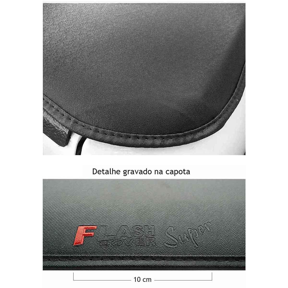 Capota mar�tima super slim S10 cabine dupla 1997 a 2011