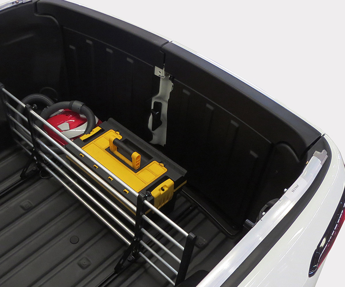 Divisor separador de cargas ca�amba Fiat Toro 2017