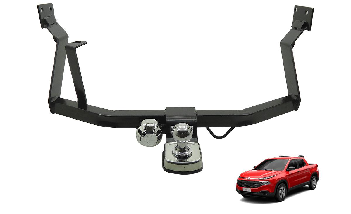 Engate de reboque fixo Fiat Toro 2017