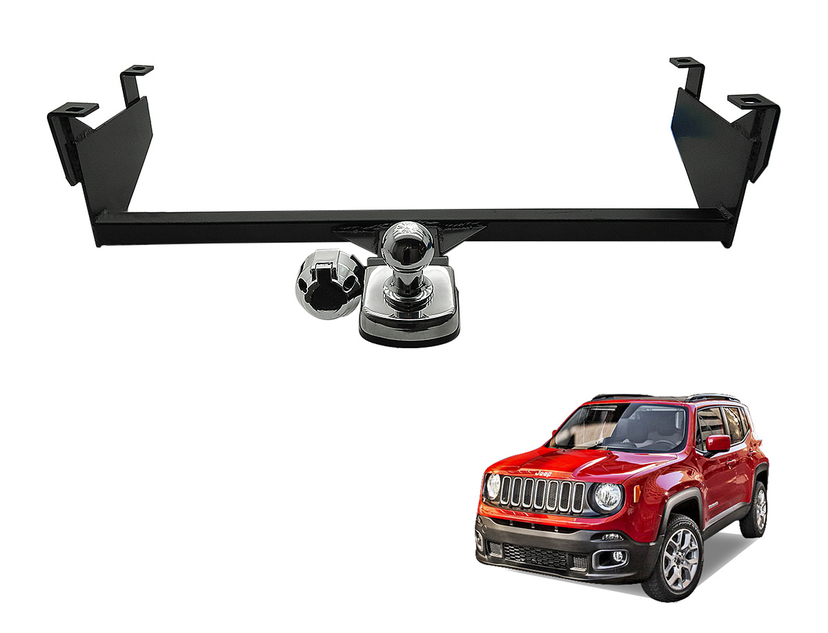 Engate de reboque fixo Jeep Renegade 2016 2017 tra��o 4x2