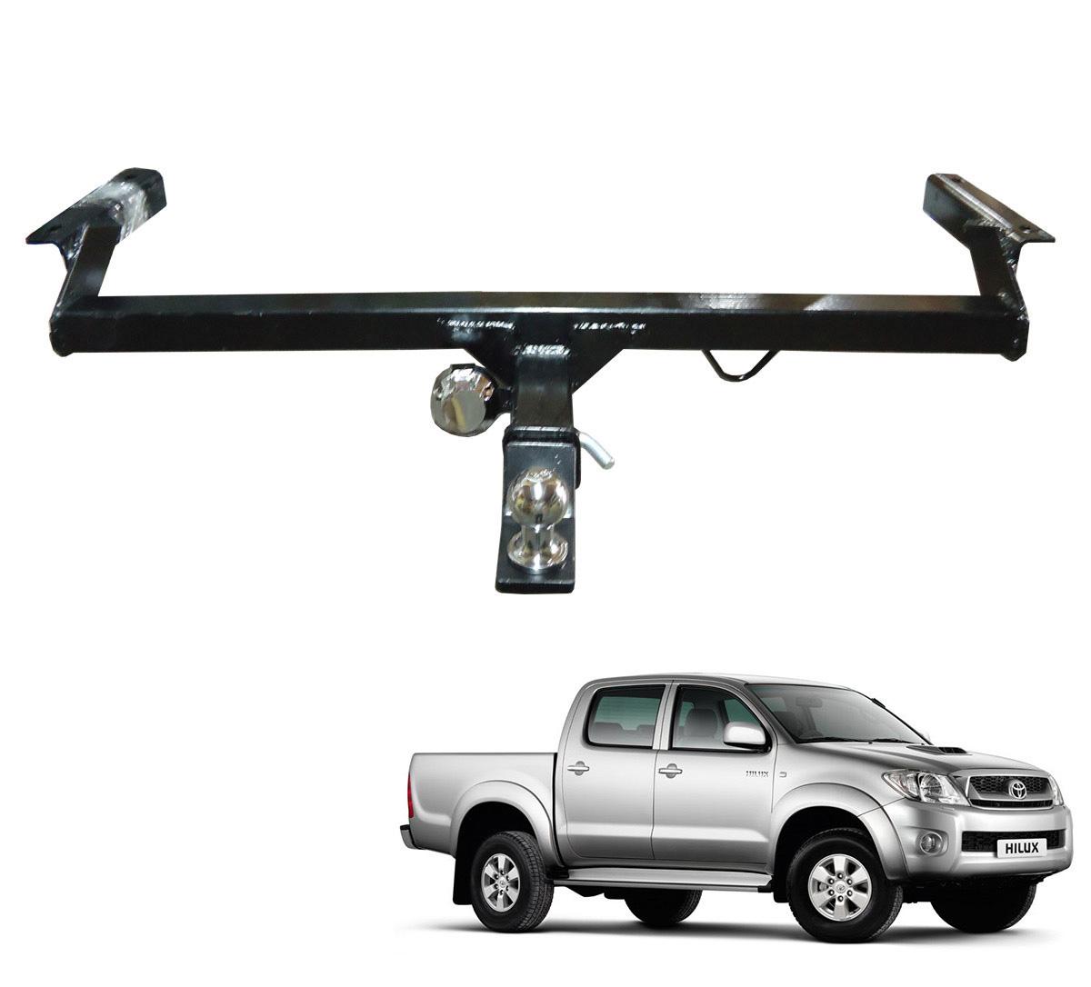 Engate de reboque Hilux 2005 a 2015 SRV removível 1000 Kg