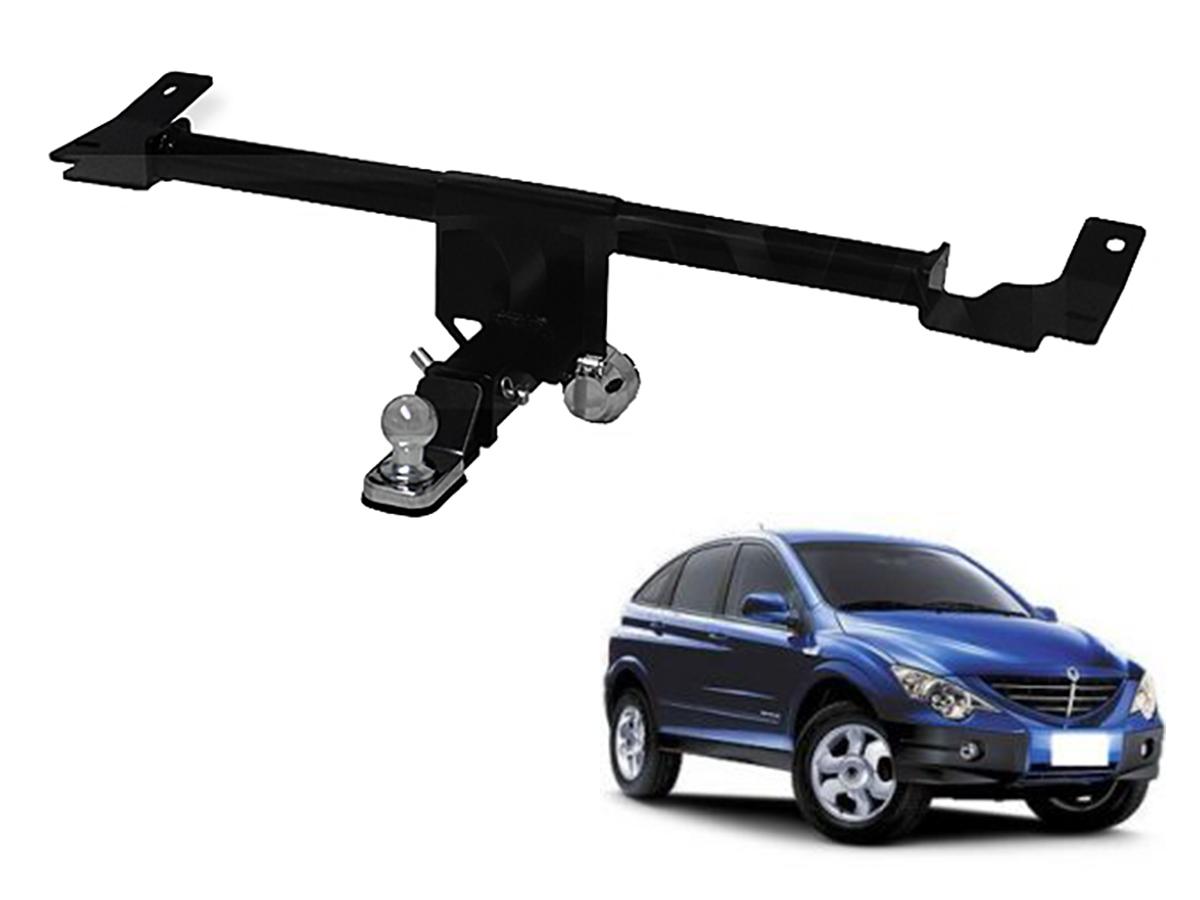 Engate de reboque Actyon SUV 2007 a 2012 removível 900 Kg