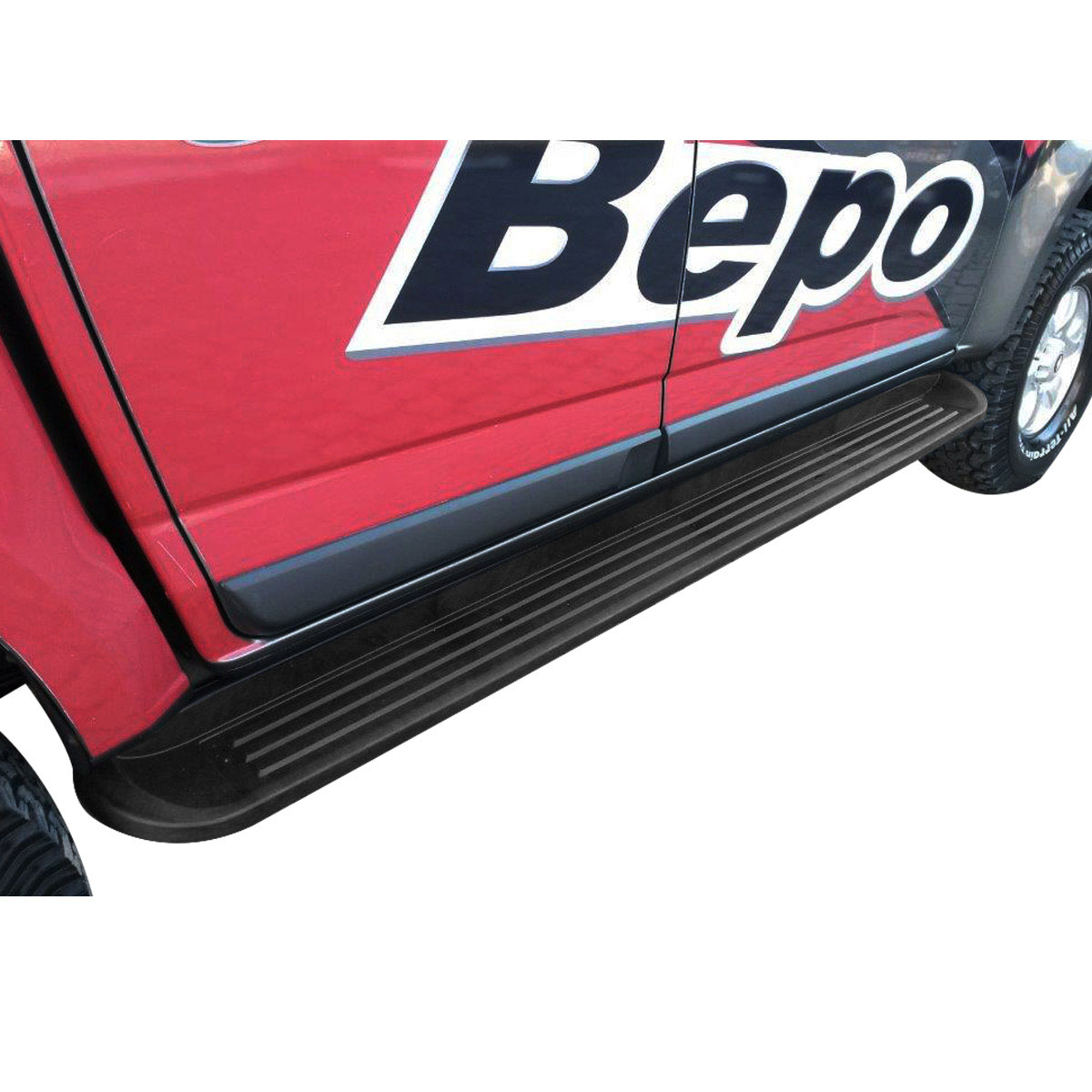 Estribo Nova S10 cabine dupla 2012 a 2017 semelhante original Bepo