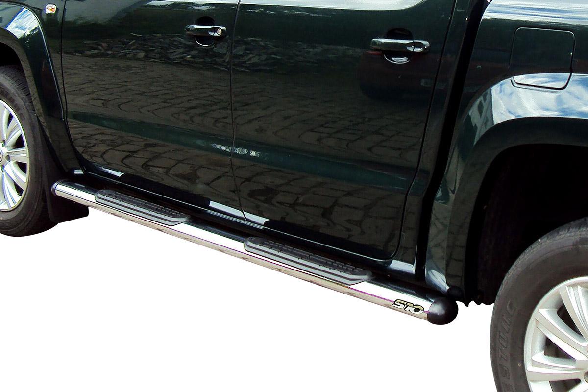 Estribo oval cromado S10 cabine dupla 1997 a 2011