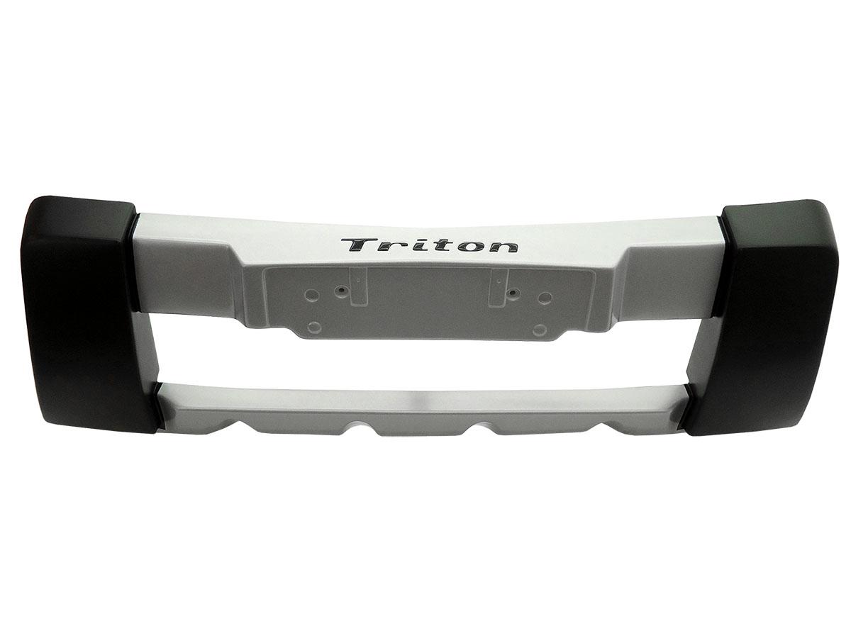 Overbumper protetor frontal L200 Triton HPE 2011 e 2012 ou versões GLS, GLX e HLS 2012 a 2017