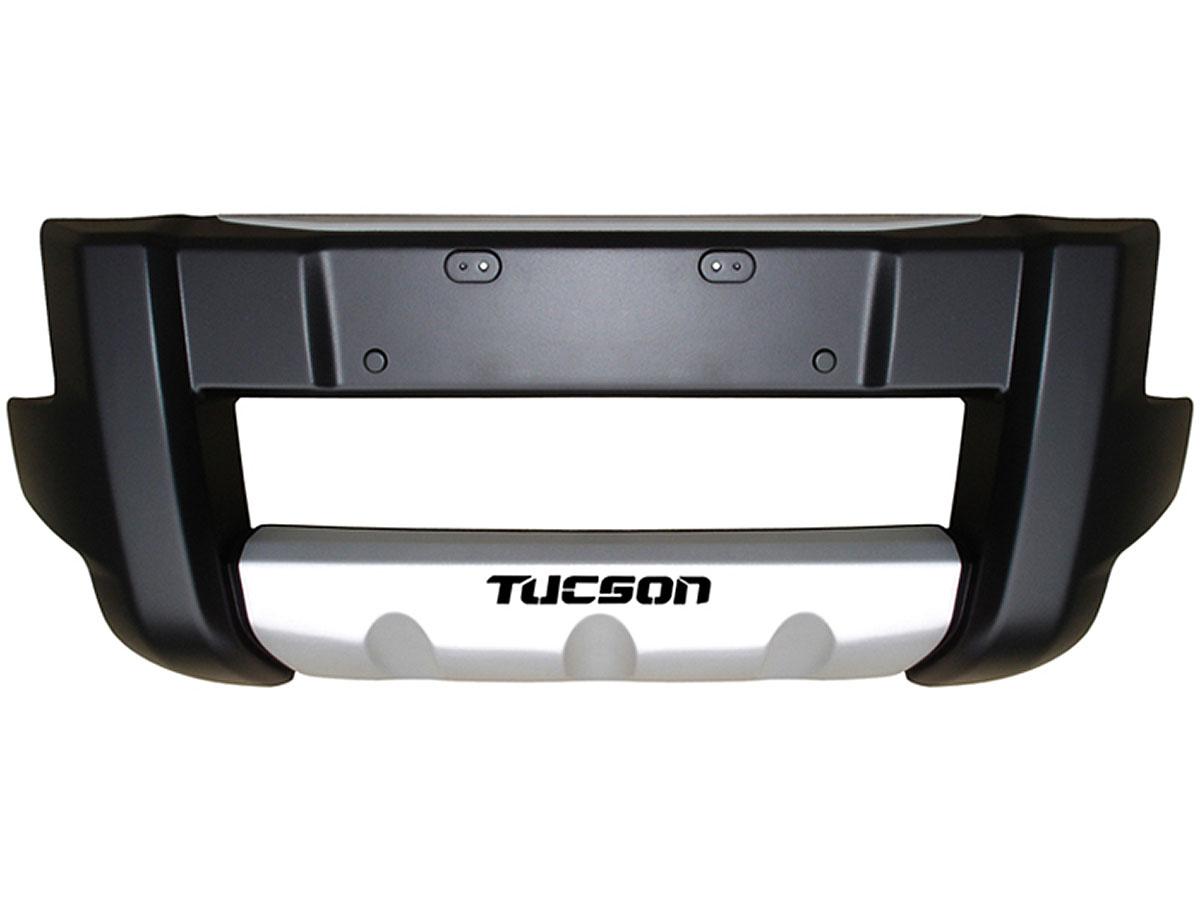 Overbumper protetor frontal Tucson 2005 a 2016