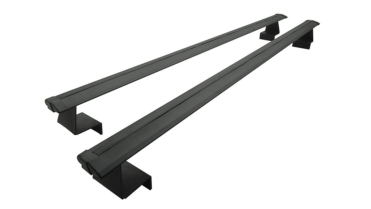 Rack de caçamba em alumínio preto S10 1995 a 2011