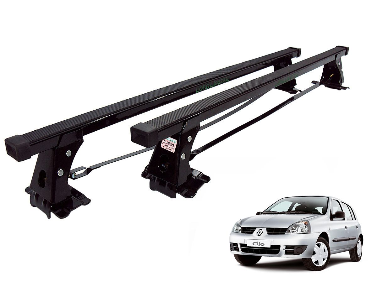 Rack de teto Clio 4 portas 2000 a 2016 Long Life a�o