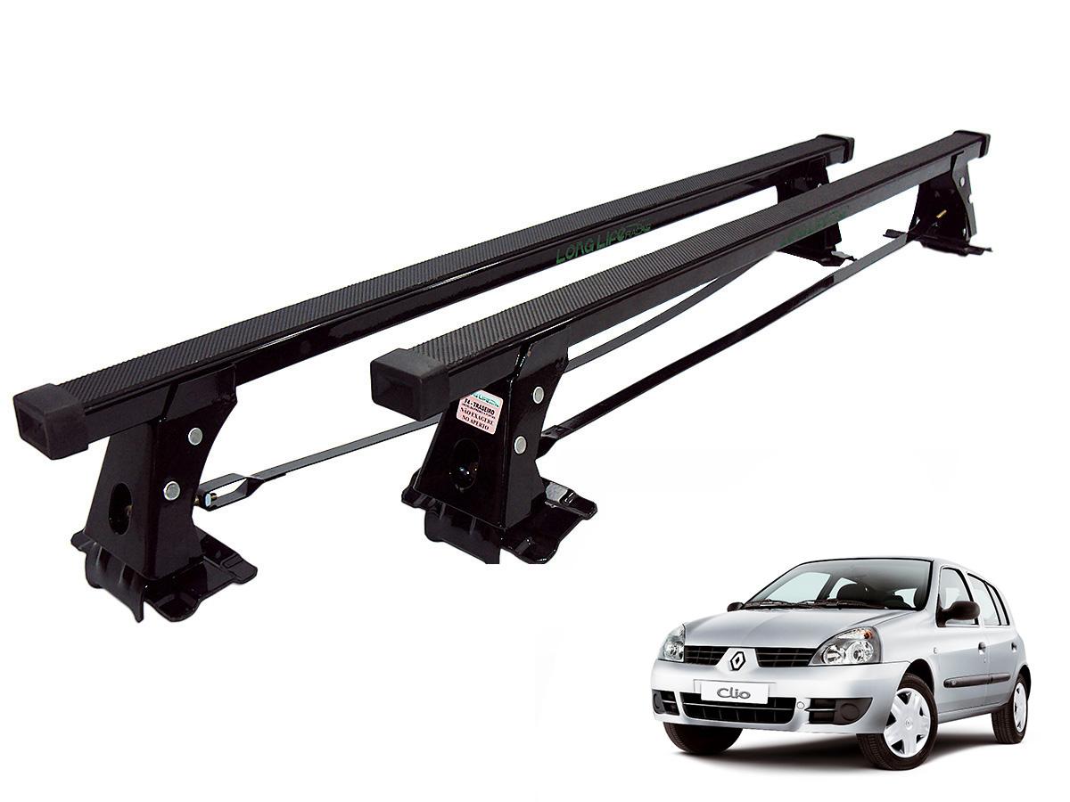 Rack de teto Clio 4 portas 2000 a 2016 Long Life aço