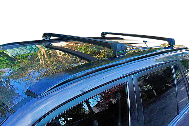Rack de teto Grand Vitara 2009 a 2016 Long Life Sports preto