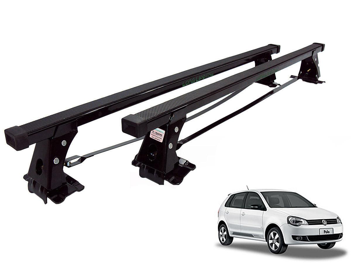 Rack de teto Polo Hatch ou Sedan 2003 a 2015 Long Life a�o
