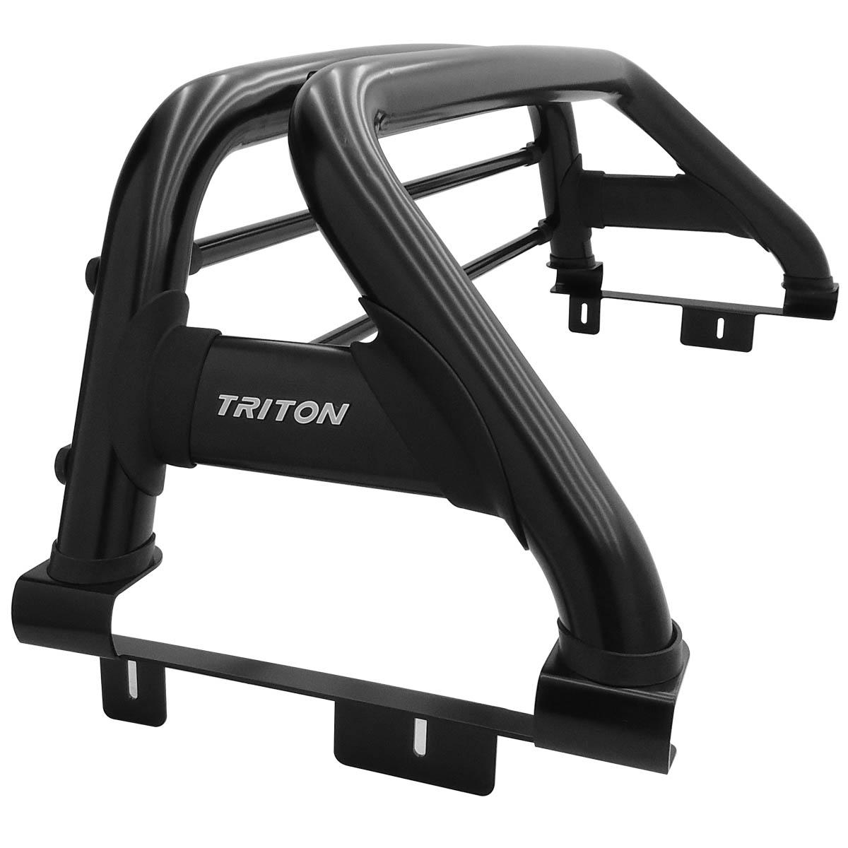 Santo antônio duplo preto Nova L200 Triton Sport 2017