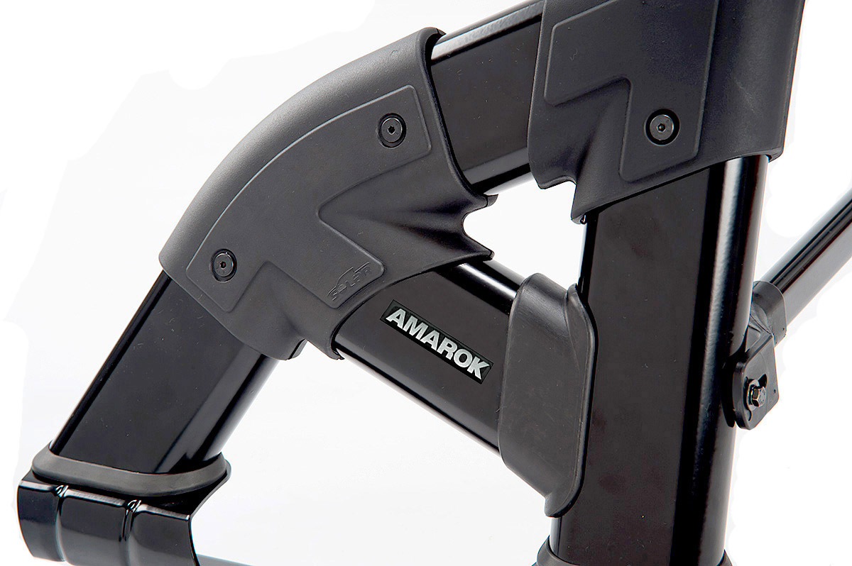 Santo antônio preto Solar Exclusive Amarok 2011 a 2017