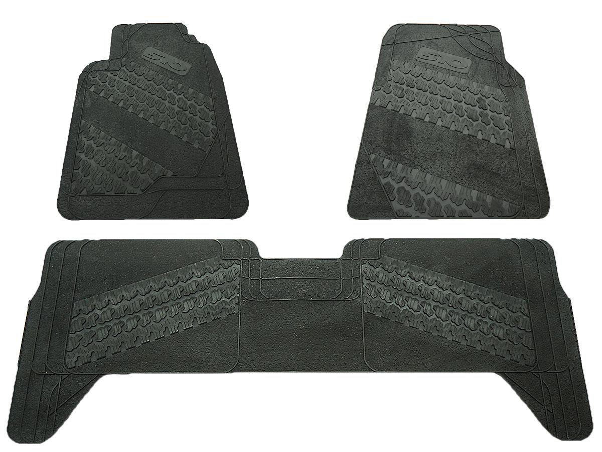 Tapete de borracha Nova S10 cabine dupla 2012 a 2017
