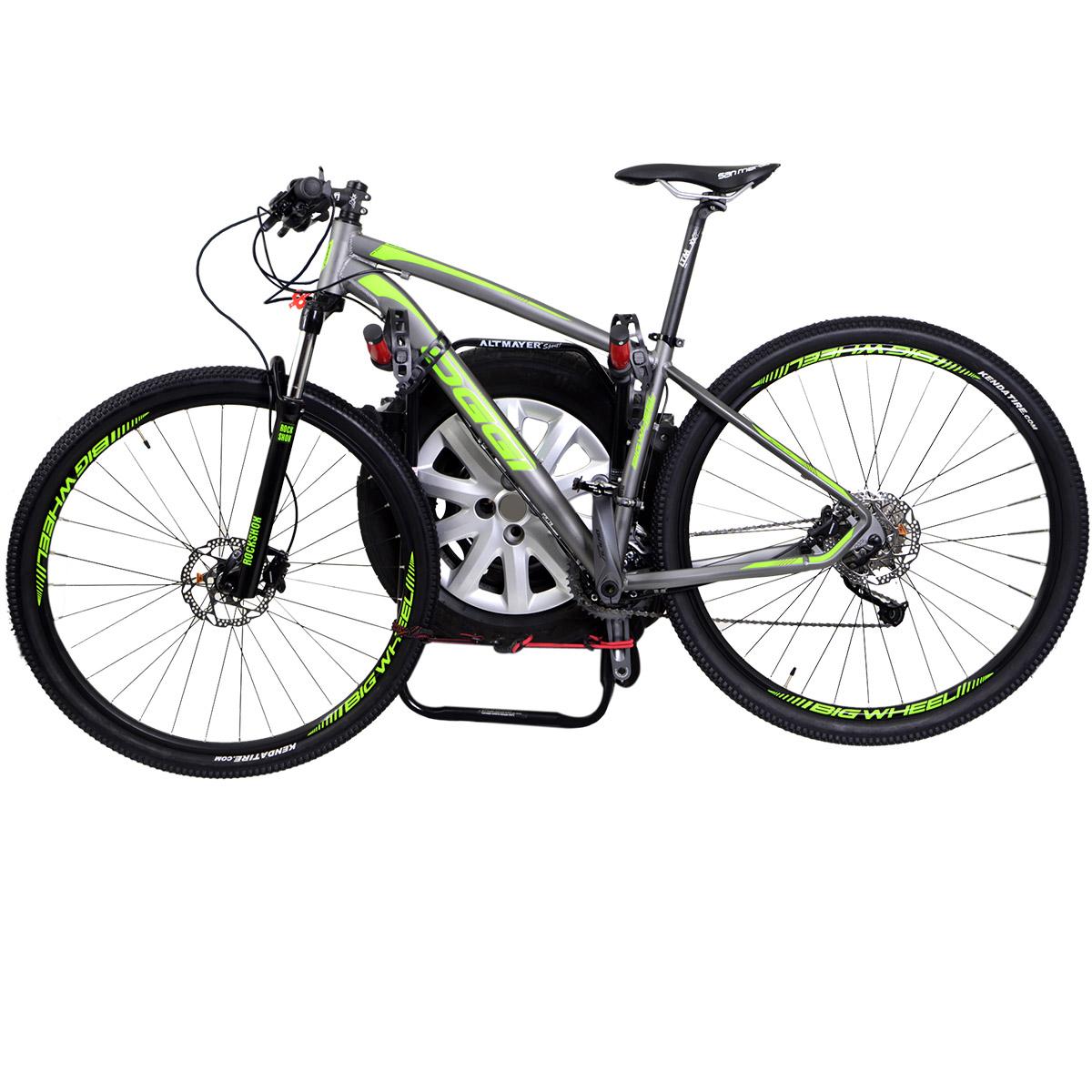 Transbike Ecosport 2003 a 2017 fixado no estepe para 2 bicicletas