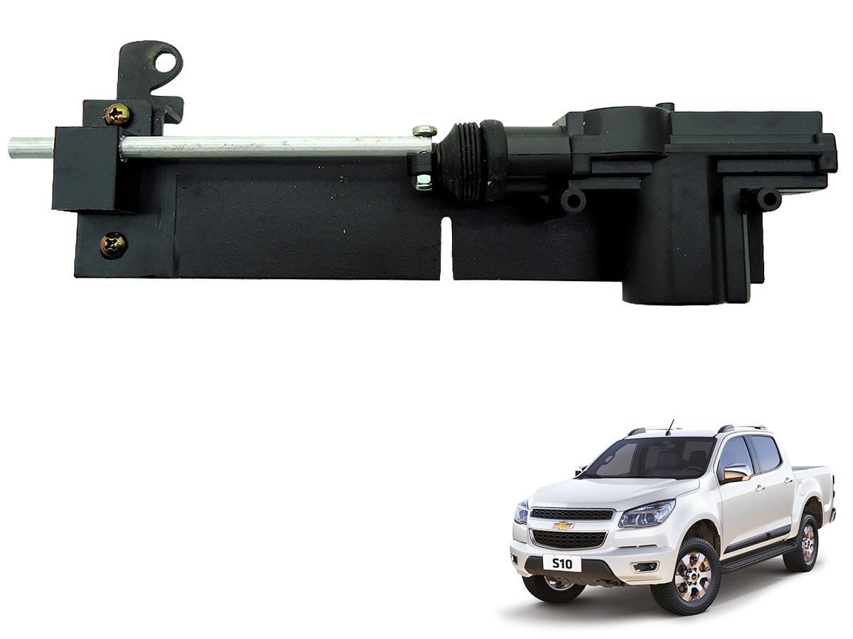 Trava tranca elétrica tampa caçamba Nova S10 2012 a 2017