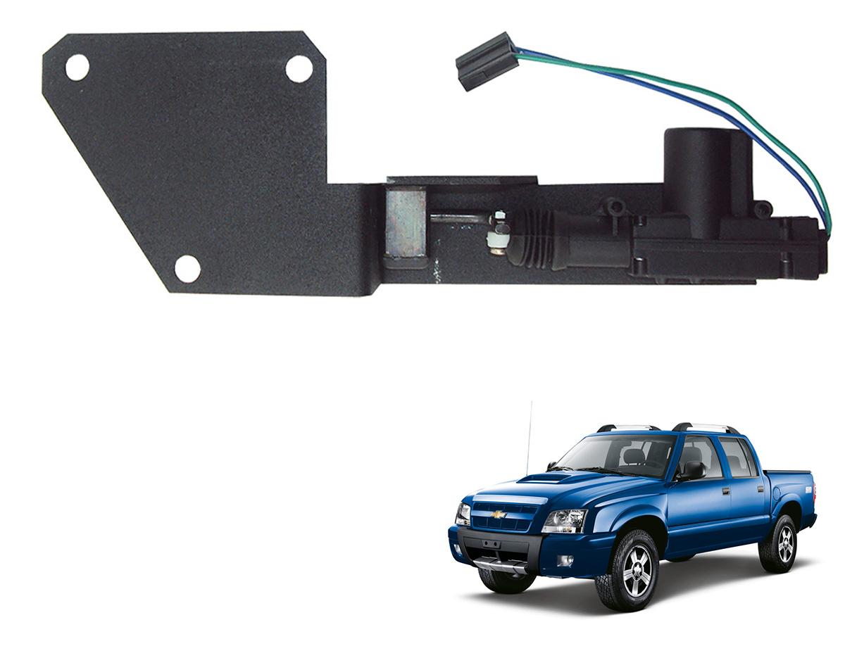 Trava tranca el�trica tampa ca�amba S10 1995 a 2011