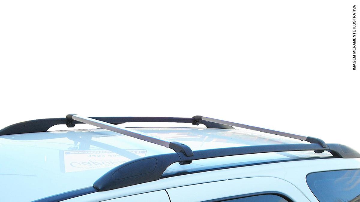 Travessa rack de teto alum�nio Aircross 2011 a 2017