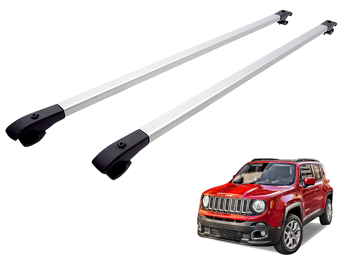Travessa rack de teto alum�nio Jeep Renegade 2016 2017